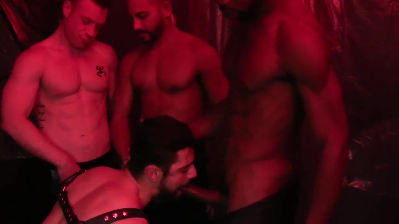 Gay darkroom sex