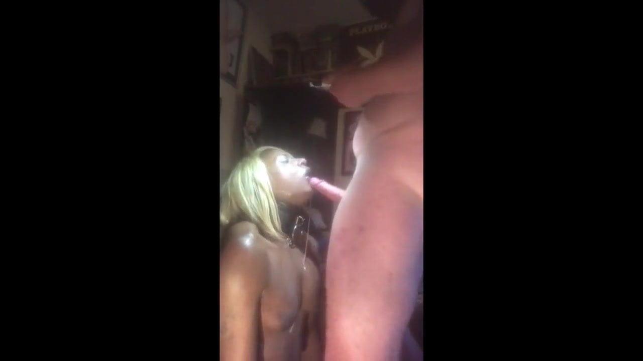 Nut Down Her Ebony Throat